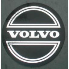 Sticker wieldop Volvo 90 mm + CORONA chroom